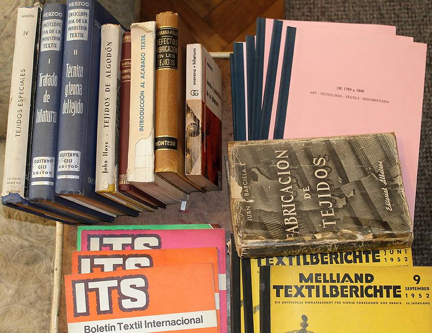 Donación de libros de Paulina Brugnoli